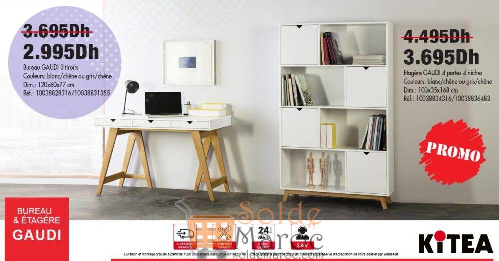 Promo kitea sur bureaux et étagères gaudi u solde et promotion du