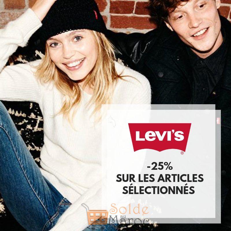 Promo City Sport -25% Articles sélectionnés LEVI'S
