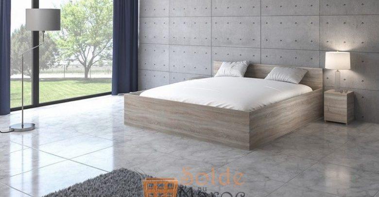 Promo Azura Home LIT COFFRE ADULTE HORA 160X200 CM AVEC MATELAS 3490Dhs au lieu de 4590Dhs