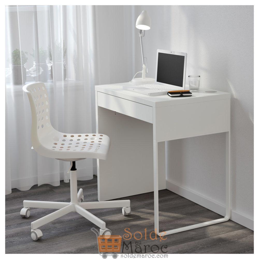 Soldes Ikea Maroc Bureau Micke Blanc 599dhs Au Lieu De