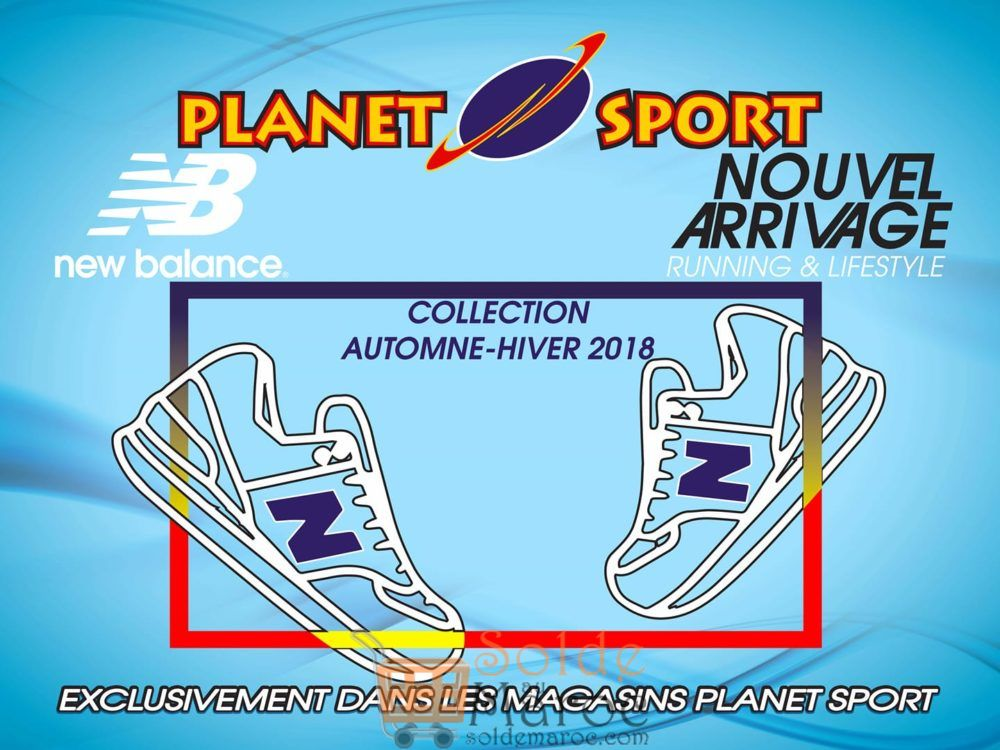 Planet Sport Collection Automne-Hiver 2018 NEW BALANCE