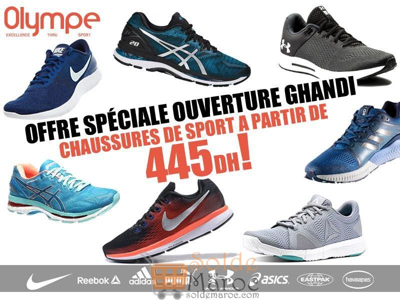 Offre Spéciale Olympe Store Ghandi chaussure de sport à partir de 445Dhs