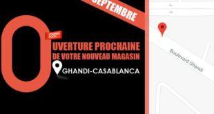 Ouverture Prochaine Olympe Store Ghandi Casablanca