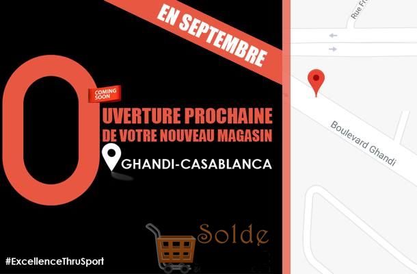 Ouverture Prochaine Olympe Store Ghandi Casablanca