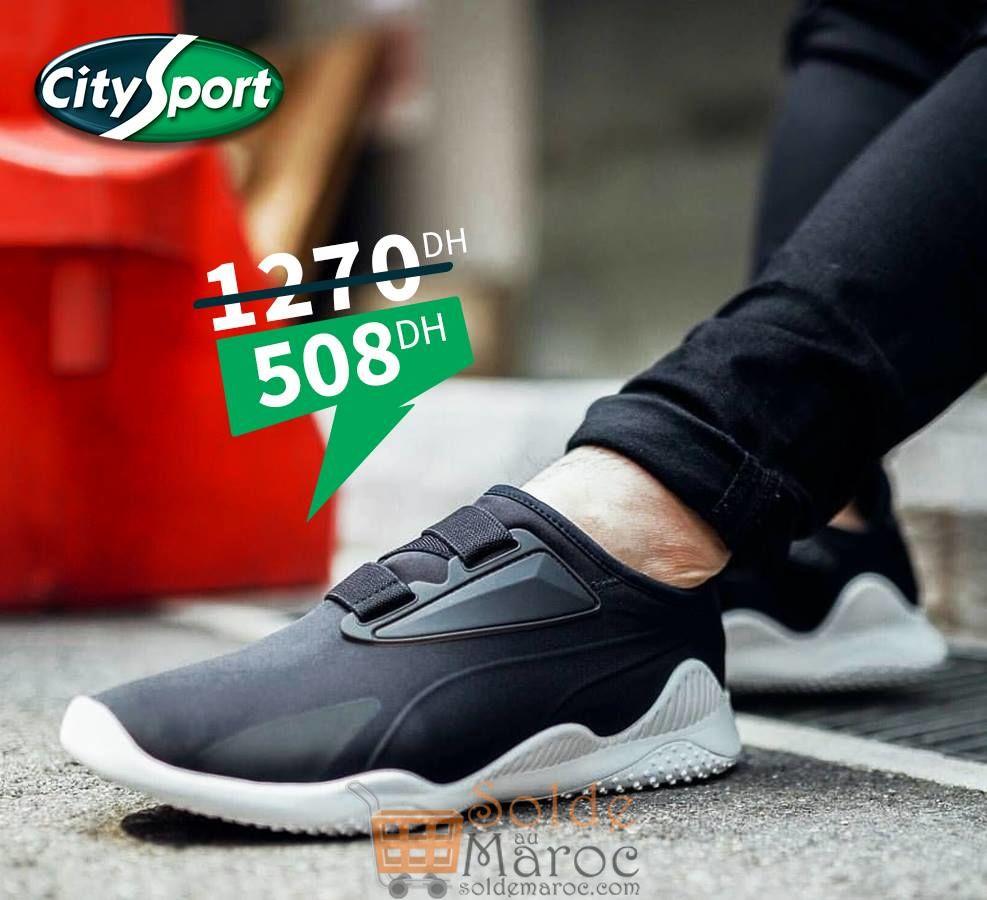 Promo City Sport Maroc -60% sur la sportive et flexible PUMA Mostro