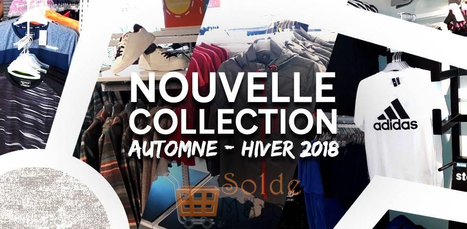 Nouvelle Collection Automne-Hiver 2018 chez Sport Zone Maroc