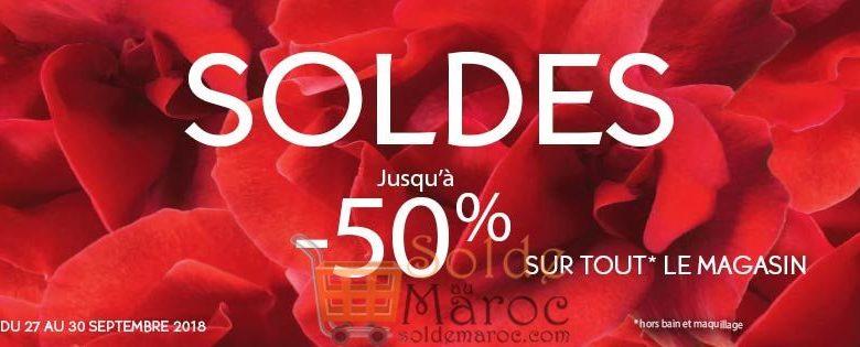 Soldes Yves Rocher Maroc -50%* jusqu'au 30 Septembre 2018