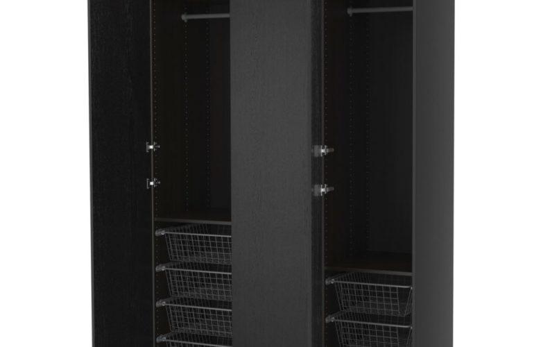 Soldes Ikea Maroc Penderie PAX Noir Brun Nexus 4140Dhs Au Lieu De 5175Dhs