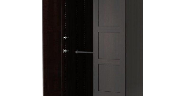 Soldes Ikea Maroc Penderie PAX Noir-brun Bergsbo 1950Dhs au lieu de 2430Dhs