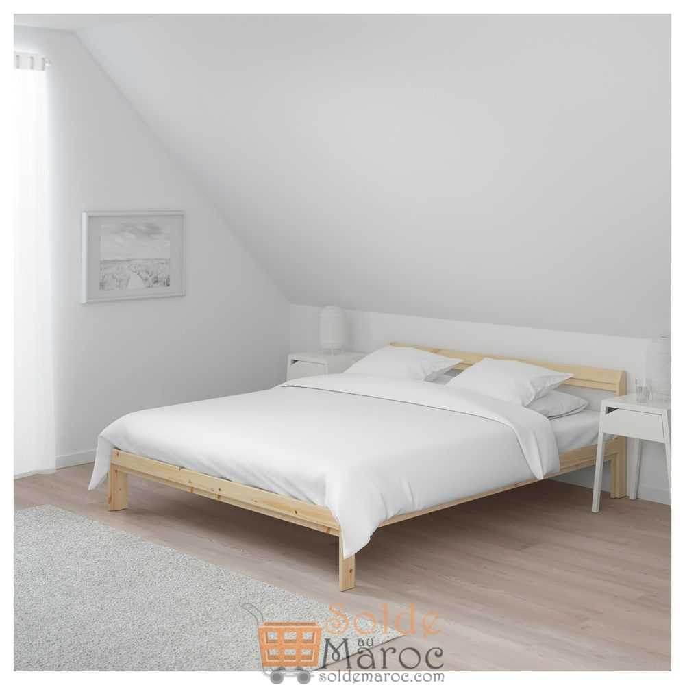 Offre Spéciale Ikea Maroc Cadre de lit NEIDEN 639Dhs