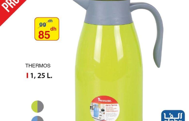 Promo Alpha55 Thermos 1.25L ou 1.45L à partir de 85Dhs