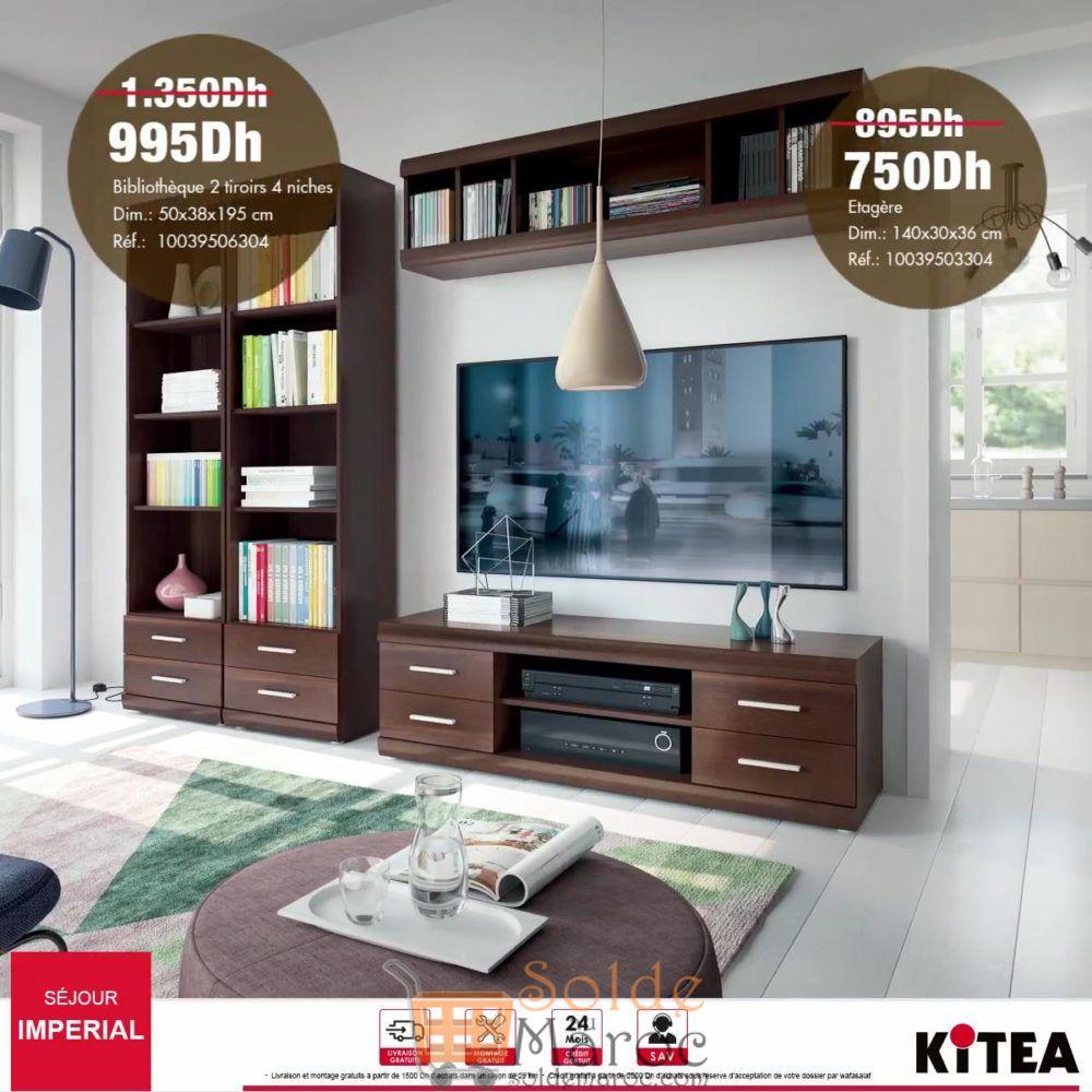 Promo Kitea Étagère Imperial 750Dhs au lieu de 895Dhs