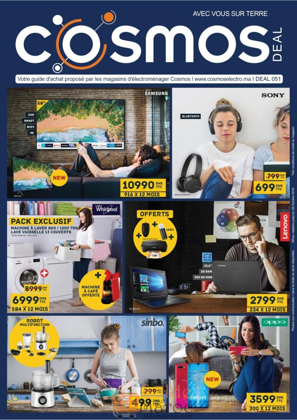 Catalogue Cosmos Electro Jusqu'au 28 Octobre 2018