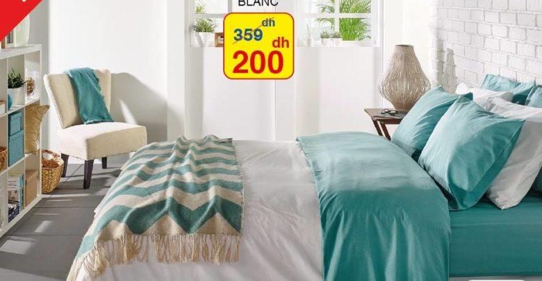 Promo Alpha55 Couvre-lits 100% Coton