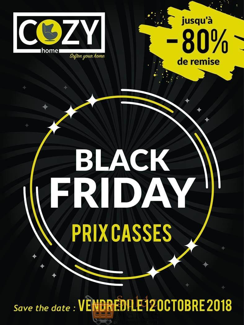 Black Friday Cozy Home Vendredi 12 Octobre 2018