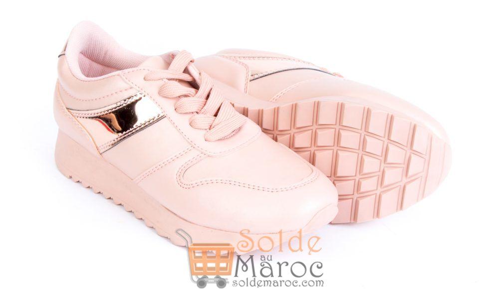 Soldes Lc Waikiki Maroc Chaussures femme Rose 99Dhs au lieu de 209Dhs