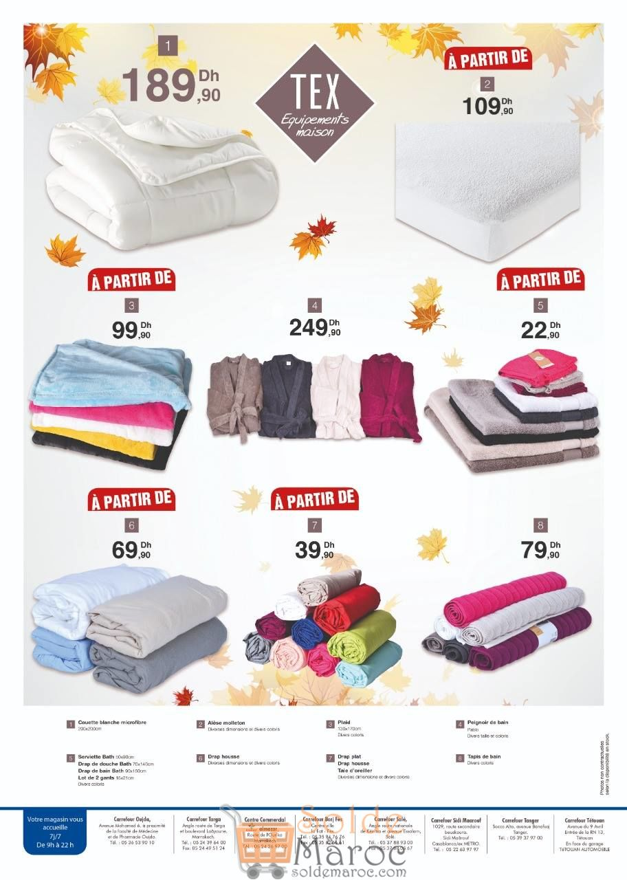 Catalogue Carrefour Maroc TEX Collection Automne-Hiver 2018