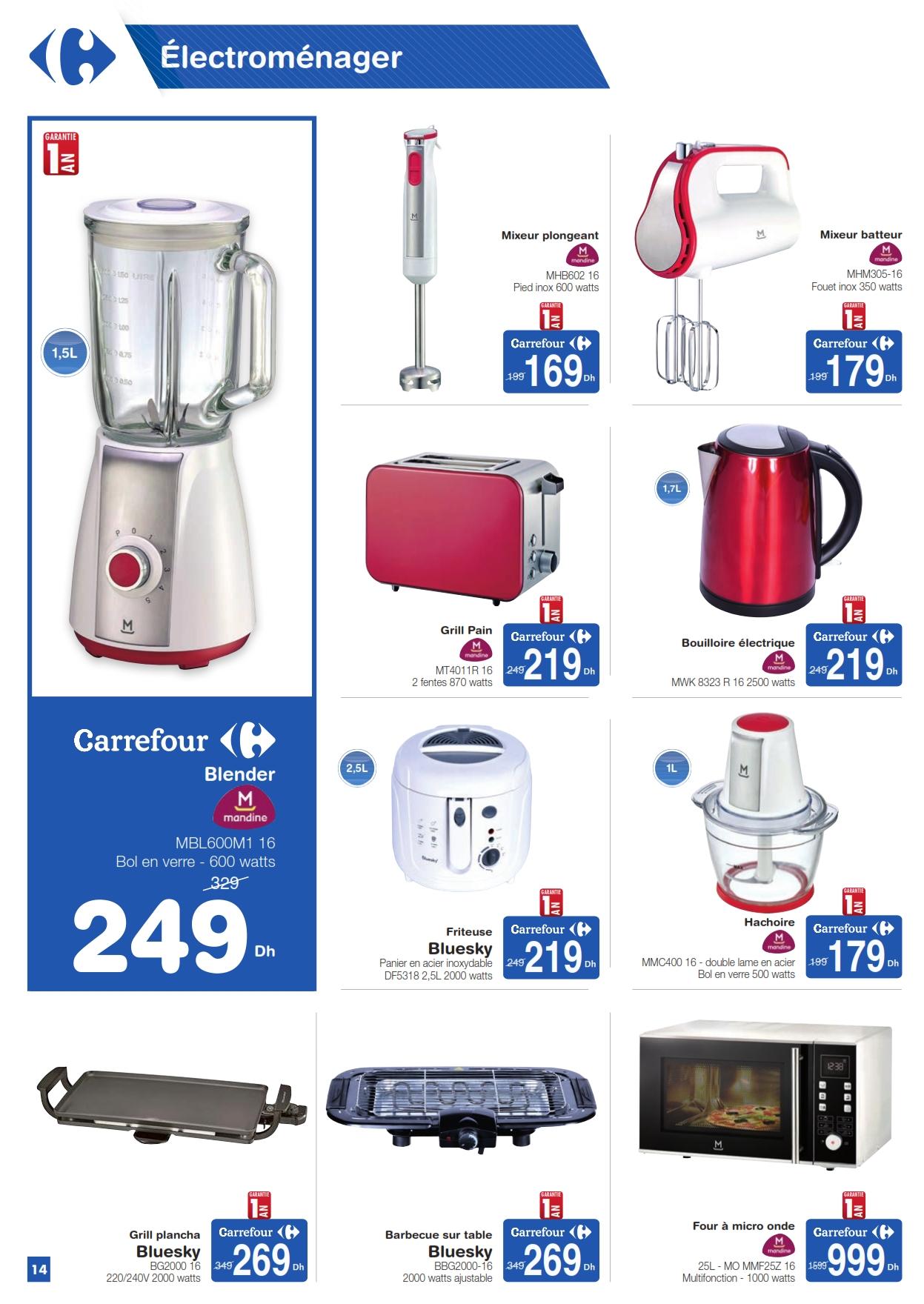 Catalogue Carrefour Maroc Produits 100% Exclusifs du 22 Octobre au 5 Novembre 2018