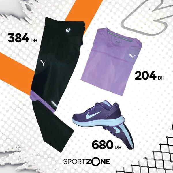 Super Offre Sport Zone Maroc Articles de fitness pour Femme