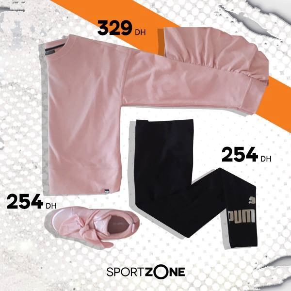 Super Offre Sport Zone Maroc Articles fitness pour fille
