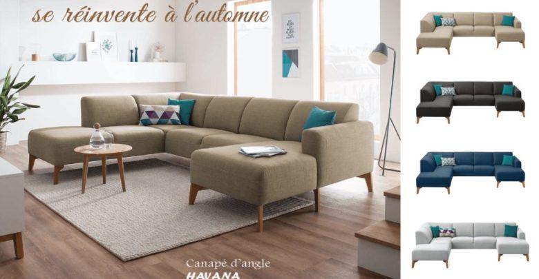 Offre Spéciale Amines Design Canapé d'angle HAVANA 11990Dhs