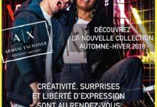 Nouvelle Collection Automne-Hiver 2018 chez Armani Exchange Maroc