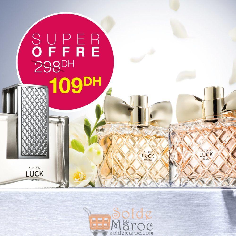 Super Offre Avon Maroc Collection LUCK 109Dhs au lieu de 298Dhs