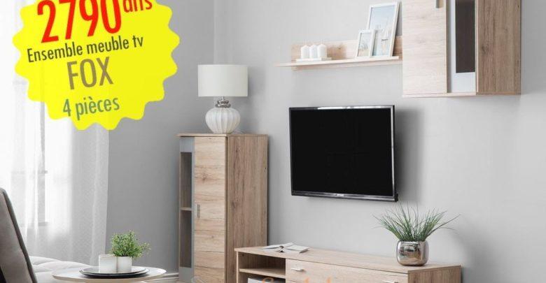 Photo of Promo Azura Home MEUBLE TV FOX 150 CM 2790Dhs au lieu de 3090Dhs