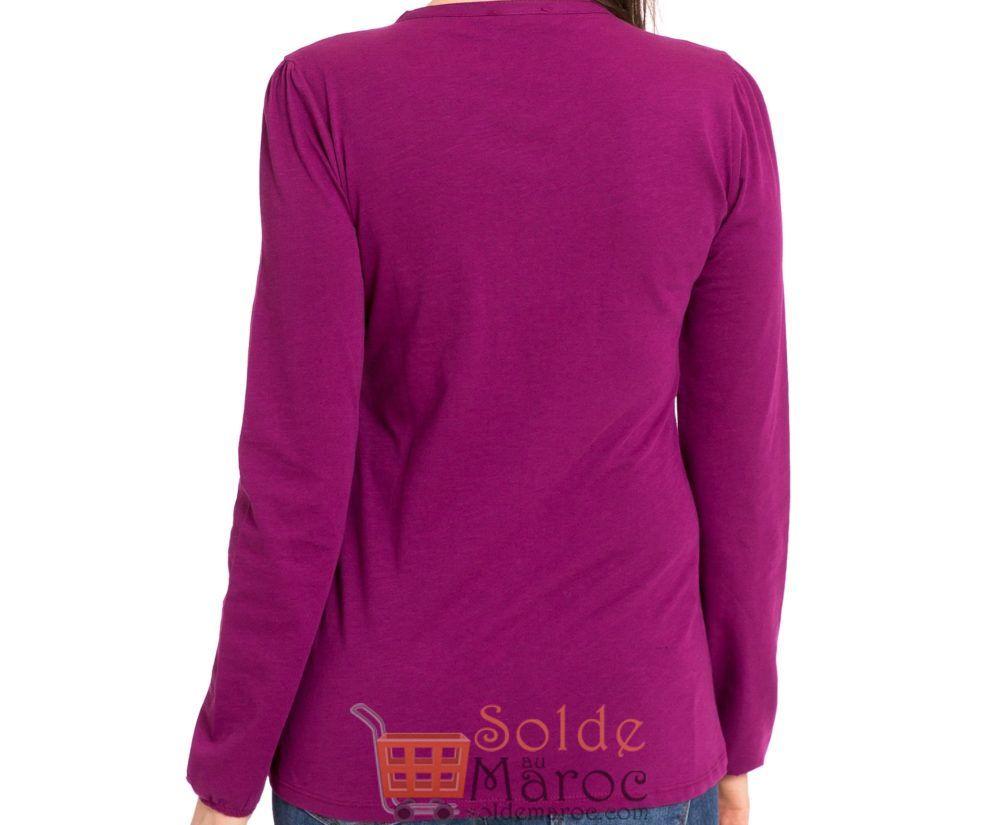Soldes Lc Waikiki Maroc T-Shirt Femme 39Dhs au lieu de 89Dhs