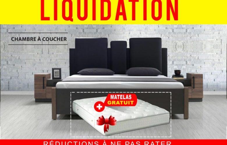 Liquidation Electro Bousfiha Chambre à coucher + Matelas gratuit