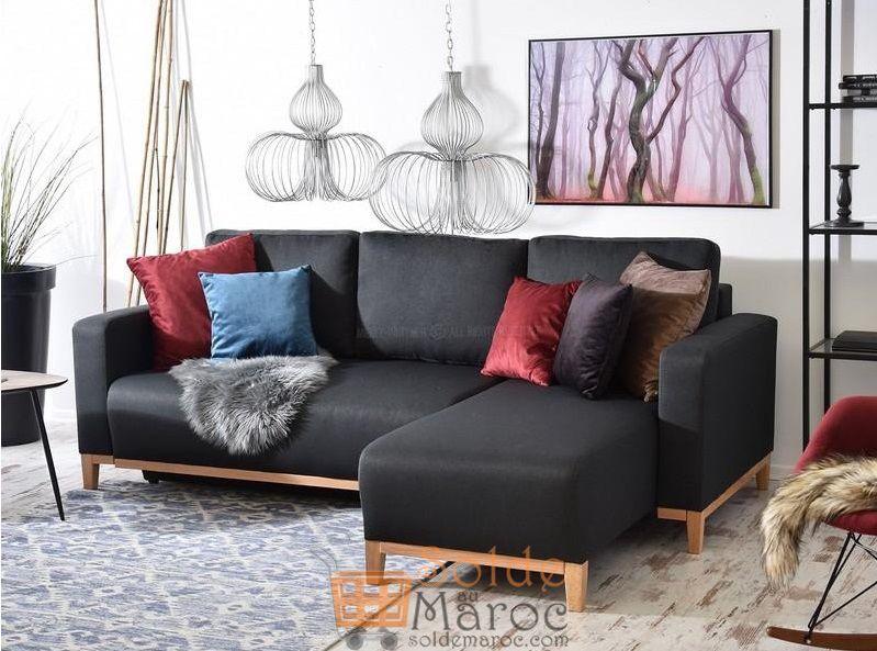 Promo Azura Home CANAPÉ D'ANGLE LUCIANA 4990Dhs au lieu de 7990Dhs