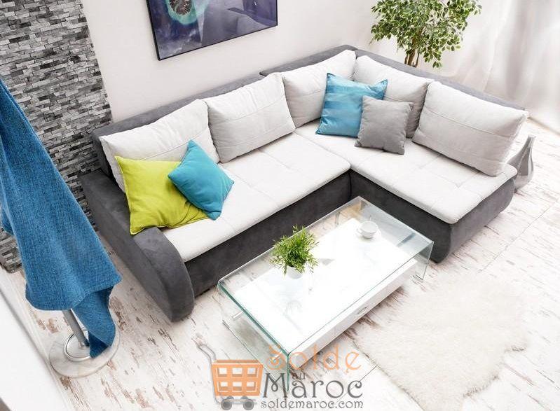 Promo Azura Home CANAPÉ D'ANGLE NORAH 5990Dhs au lieu de 9190Dhs