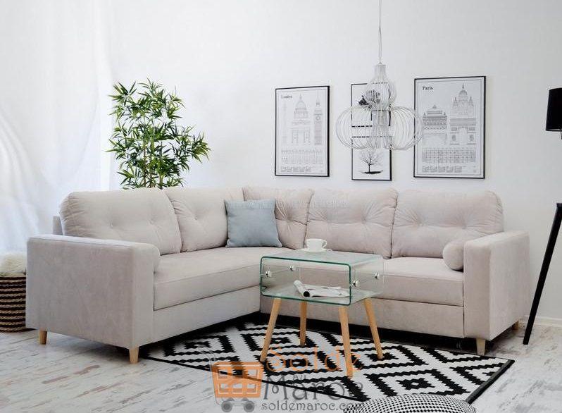 Promo Azura Home CANAPÉ D'ANGLE VALDYNA 5990Dhs au lieu de 5990Dhs