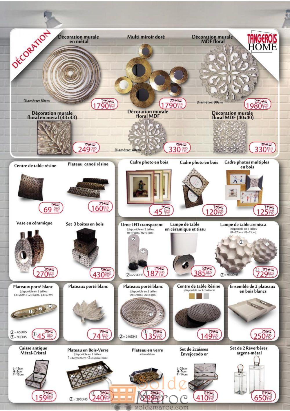 Catalogue Tangerois Home Déstockage du 27 Octobre au 30 Novembre 2018