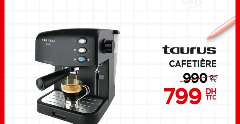 Photo of Promo Electroplanet Cafetière Taurus 799Dhs au lieu de 990Dhs