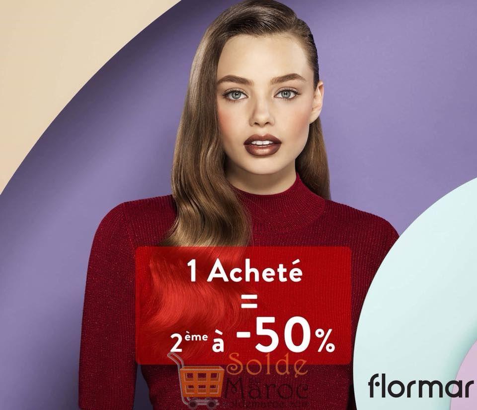 Promo Flormar Achetez un le deuxième à -50% sur tout le Magasin du 15 au 18 Octobre 2018