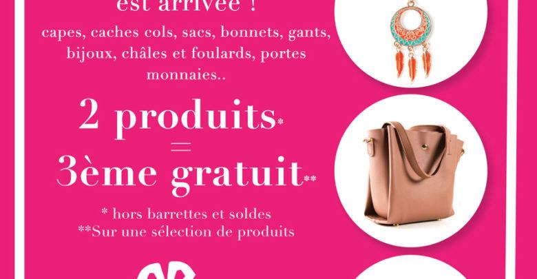 Promo Bigdil pour 2 produits achetés le 3ème est gratuit