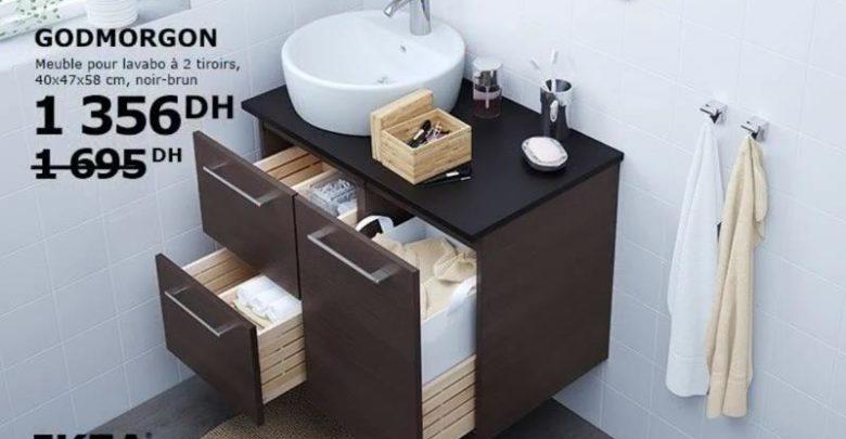 Photo of Promo Ikea Family Maroc Meuble pour lavabo GODMORGON 1356Dhs au lieu de 1695Dhs
