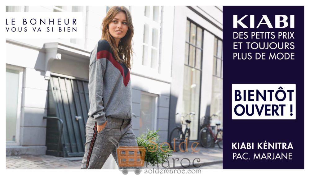 Ouverture magasin Kiabi Kenitra Aujourd'hui