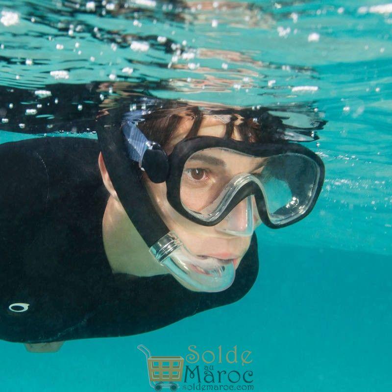 Prix en baisse Decathlon Kit de snorkeling PMT palmes masque tuba 100 enfant 119 Dhs