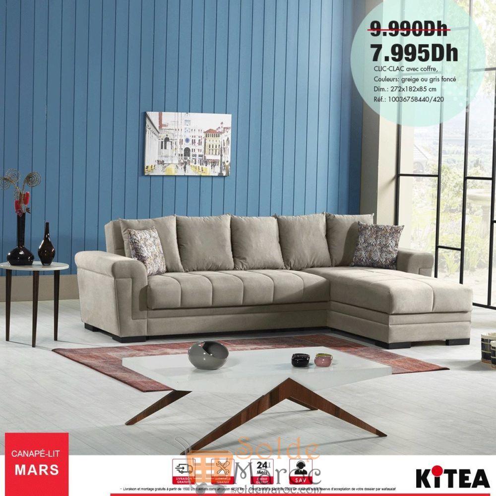 Promo Kitea Clic-clac avec coffre 7995Dhs au lieu de 9990Dhs