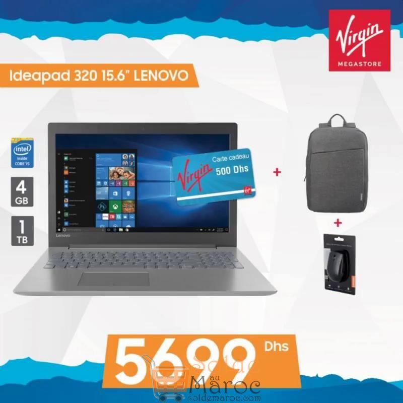 Promos Virgin Megastore Maroc Jusqu'à 10% de remise sur tous les Laptops