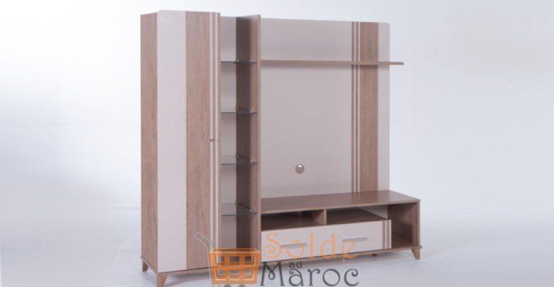 Promo Istikbal Maroc Meuble Tv Compact MIRANDA 2495Dhs au lieu de 4990Dhs