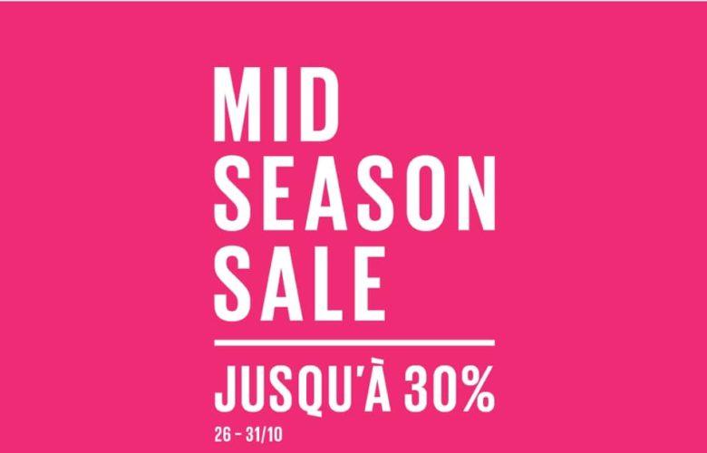 Promo Parfois Maroc MID SEASON SALE -30% Jusqu'au 31 Octobre 2018
