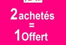 Promo PENTI Maroc 2 achetés = 1 offert