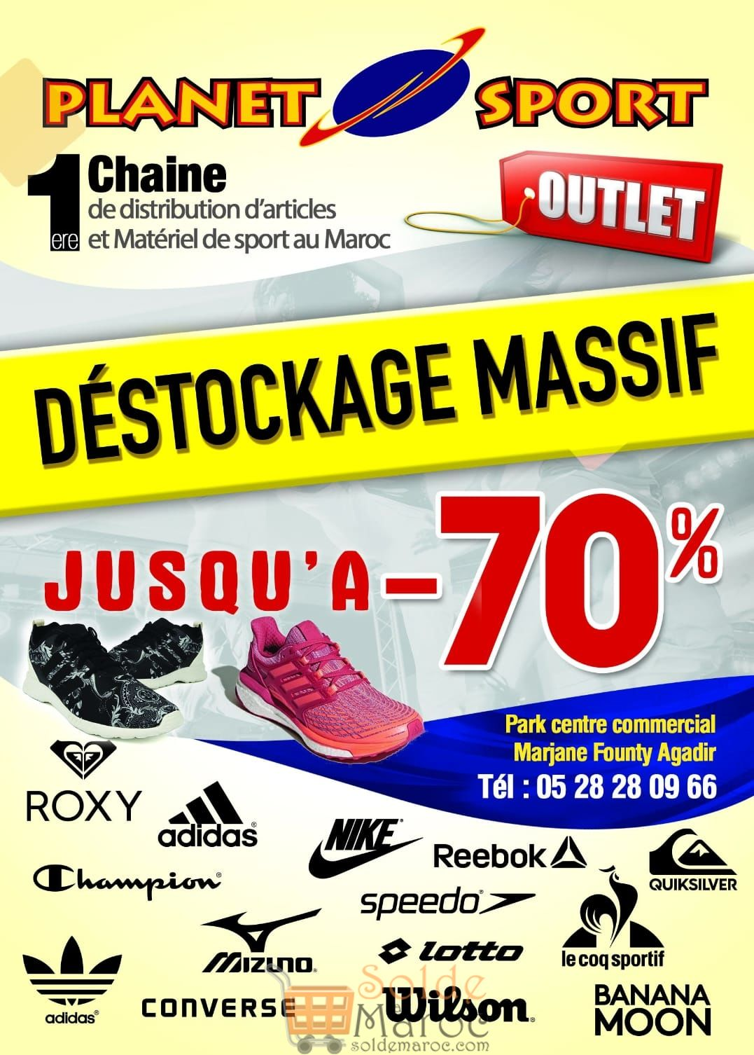 Promo Week-end chez Planet sport Agadir