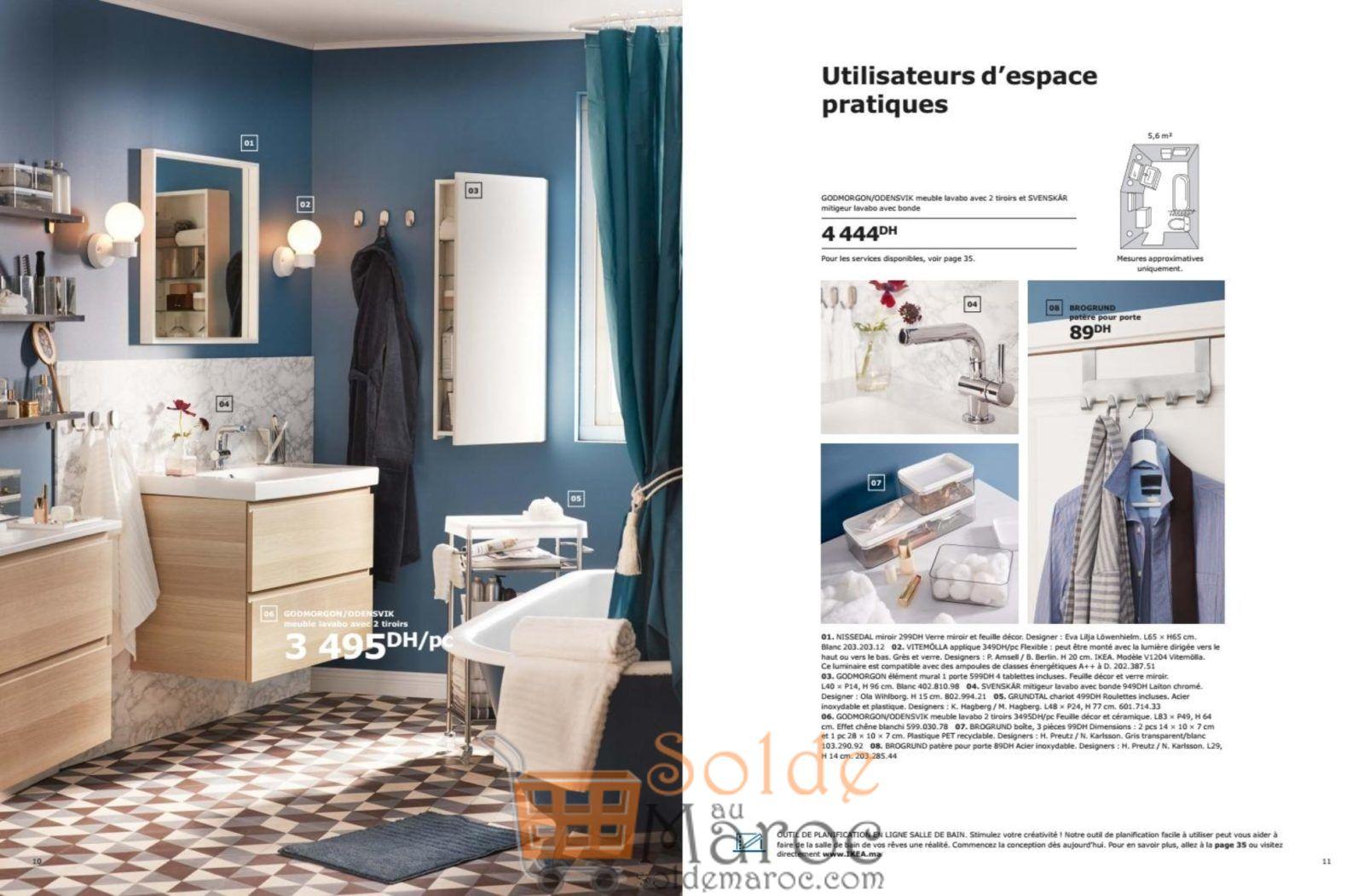 catalogue ikea maroc salle de bain 2019. Black Bedroom Furniture Sets. Home Design Ideas
