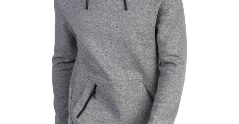 Photo of Soldes Decathlon Sweat-shirt 560 Gym & Pilates homme capuche gris 199Dhs au lieu de 229Dhs