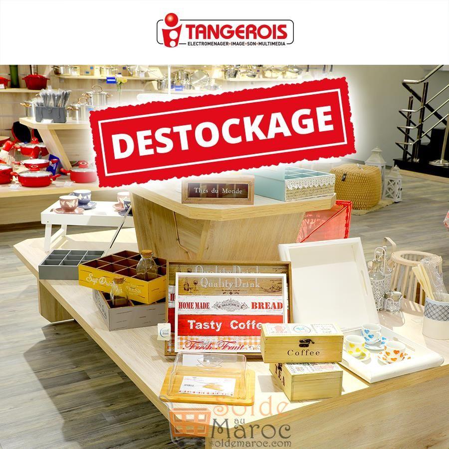 Déstockage Massif Tangerois Electro Avant Nouvelle Collection