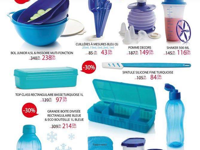 Promo Tupperware Maroc Bazaar Bleu